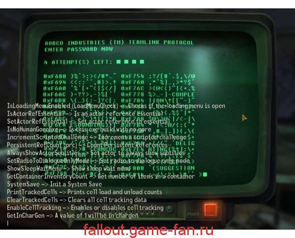 Fallout 4 техническая информация